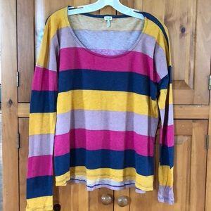 Splendid long sleeve striped T-shirt